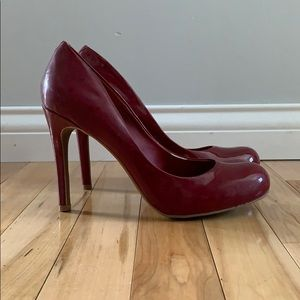 Never Worn // Red Jessica's Simpson High Heels